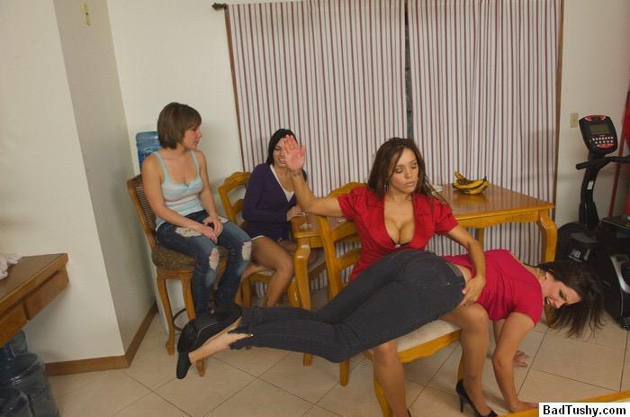 spanking friend