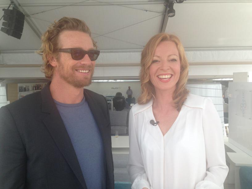 Being mental with the mentalist, Simon Baker @Festival_Cannes #cannes2015 http://t.co/kqTjeJ2nIx