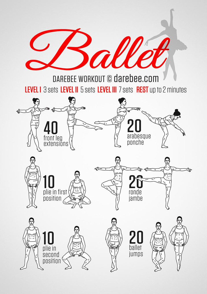 "DAREBEE on Twitter: ""Ballet Workout http://t.co/cPCEtpleep ..."