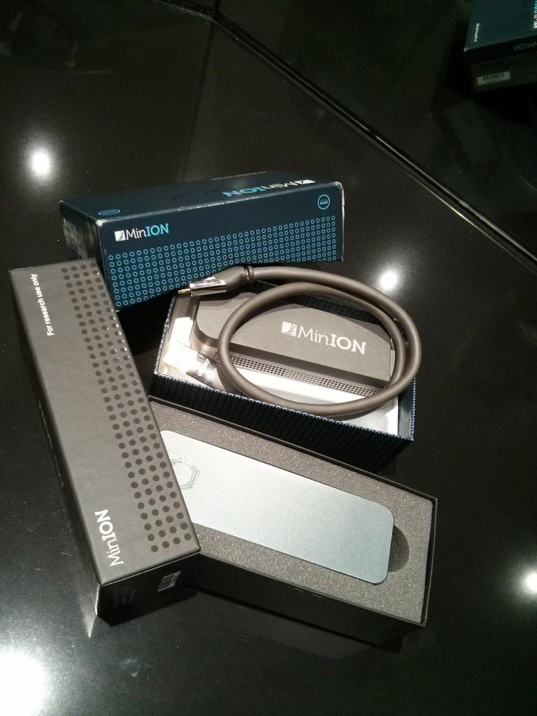 Old and new MinIONs!  #nanoporeconf http://t.co/KpYEsDNArx