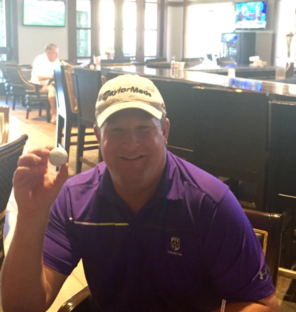 CotodeCazaGRC: Our member Mr. Zierhut just got a hole in one on #6 north! If you see him give him a high five! #imagine2015 http://t.co/xu33QV5E9Z