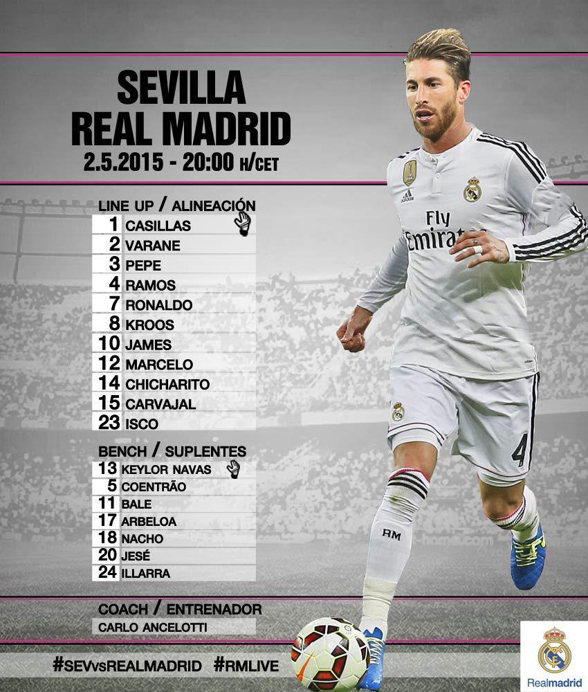 Sevilla VS Real Madrid CEA7pdmUUAAvGVo