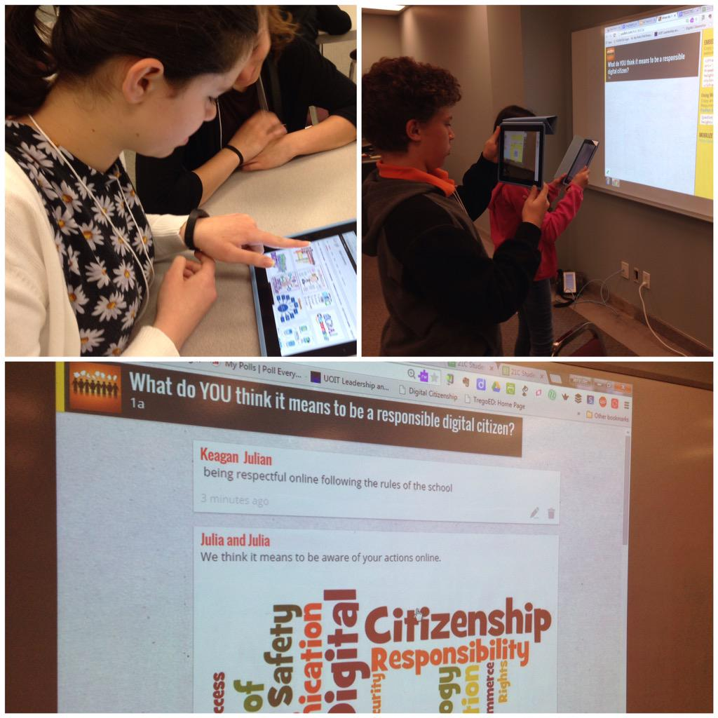 What do you think it means to be a responsible digital citizen? S EdTech Day #ycdsb21c @JCasaTodd @ycdsb http://t.co/a3TKshaJ4Q