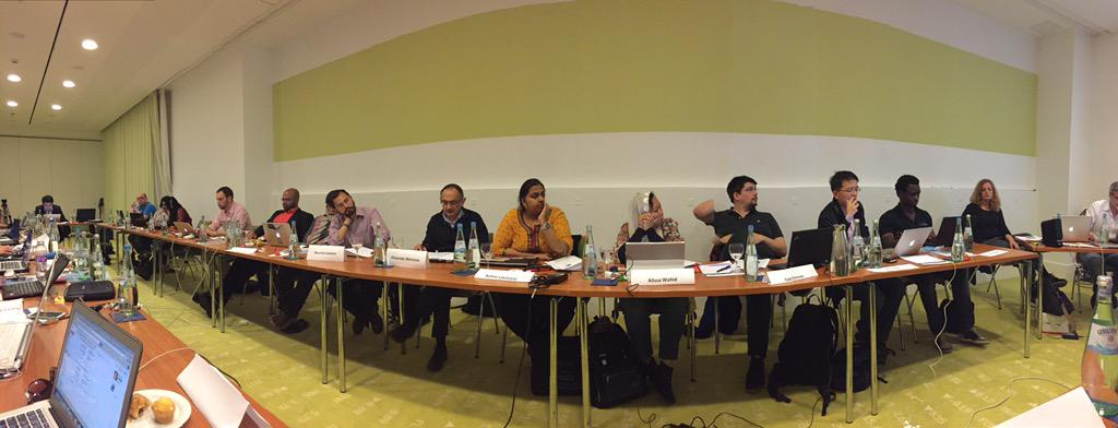 Thumbnail for From #thebobs15 jury meeting, Berlin, Germany