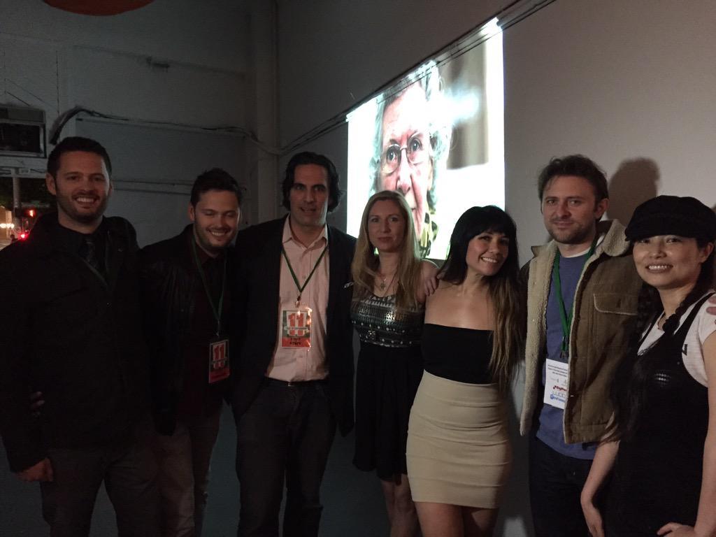 Nice shot MT @jkartalian1 - #STIFF2015 opening! @clearlylucid @nwtransmedialab @timothystiff @nwproducer @gicinema http://t.co/cuOOlPxuzi