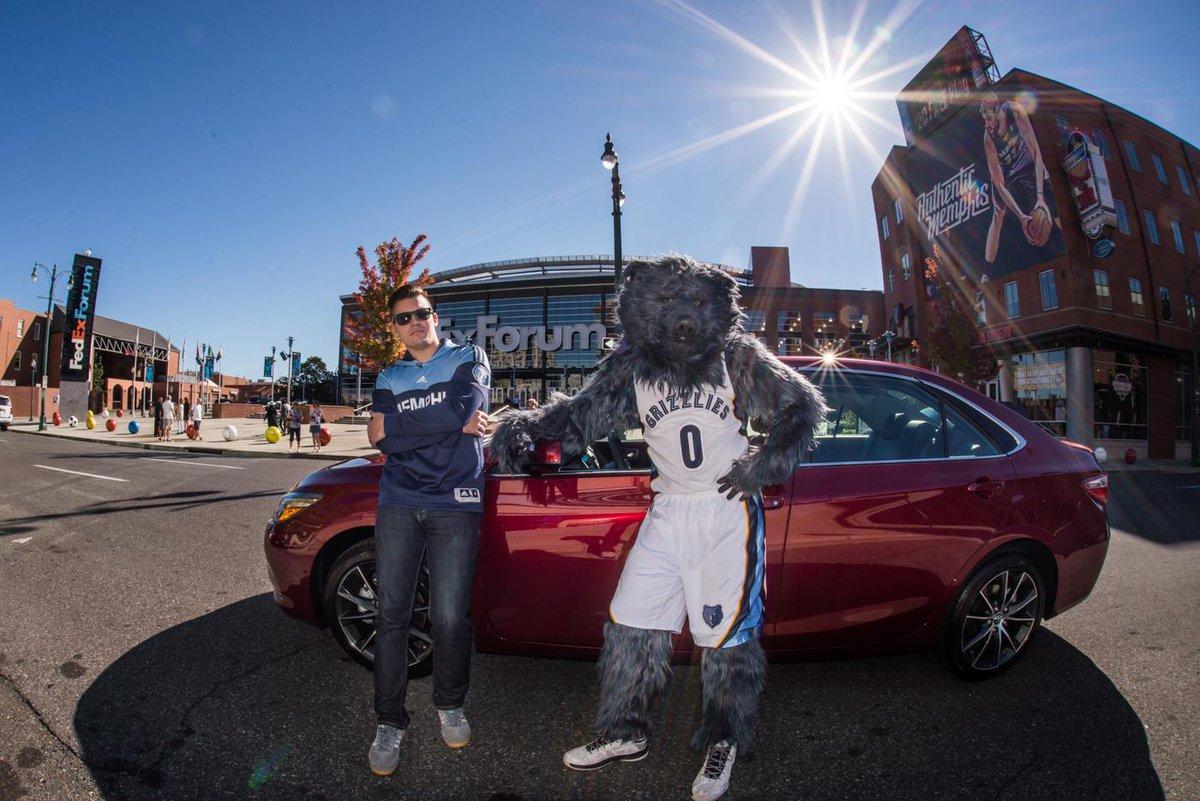 The Toyota Parking Garage Fedexforum Is Open For Memphisinmay