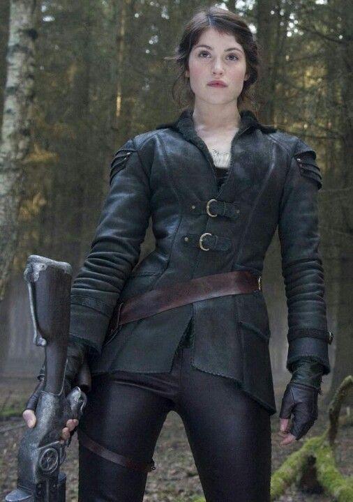 Gemma arterton leather