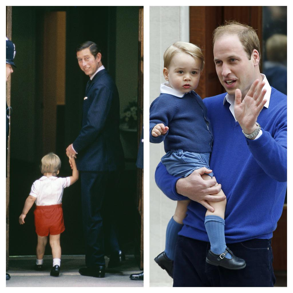 "British Royals On Twitter: ""Prince William Visiting Baby"