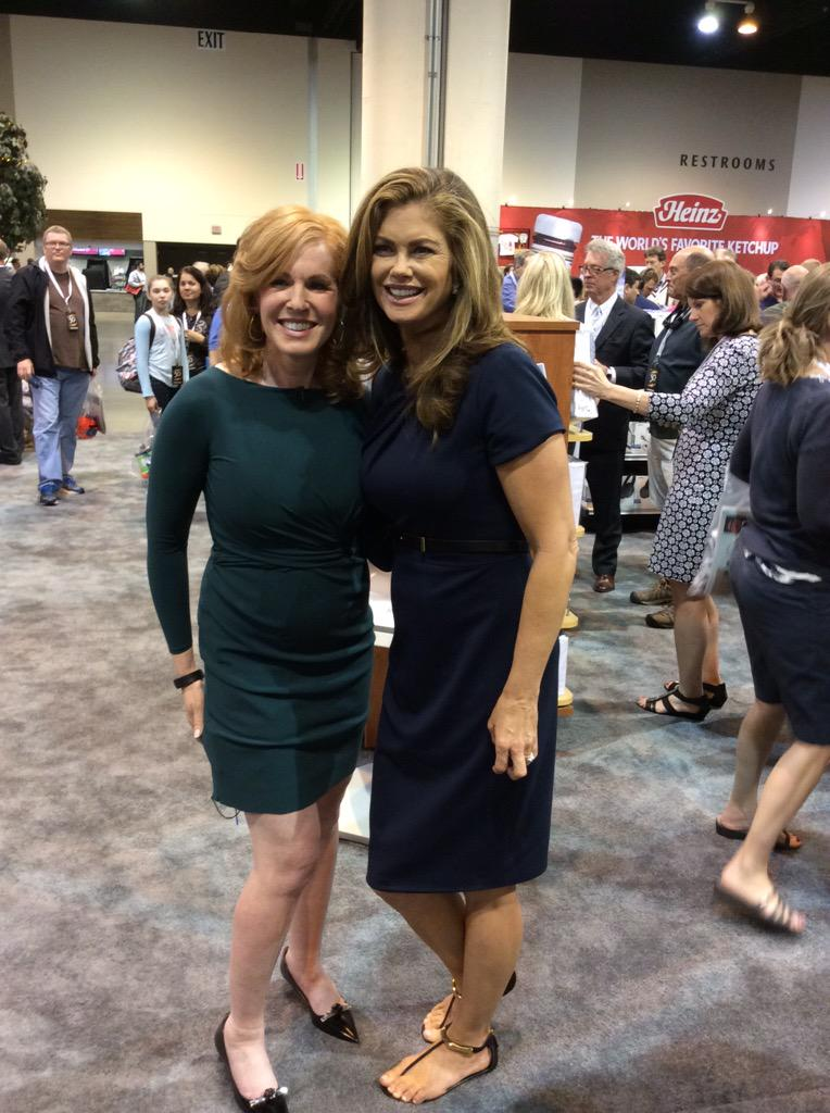 RT @nfmtweets: Thanks @kathyireland and @LizClaman for stopping by the NFM booth this weekend! We love having you both! #inspiration http:/…