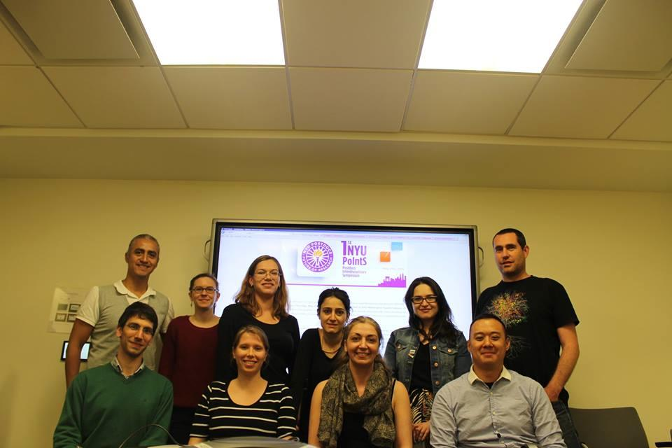 Team #NYUPoIntS15 are posing for a commemorative photo at our last organizational meeting for this year http://t.co/dYICLaG8XA