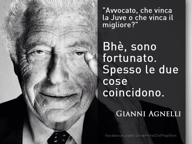 #HI5TORY Gianni Agnelli sarebbe fortunato anche adesso con la sua Juventus