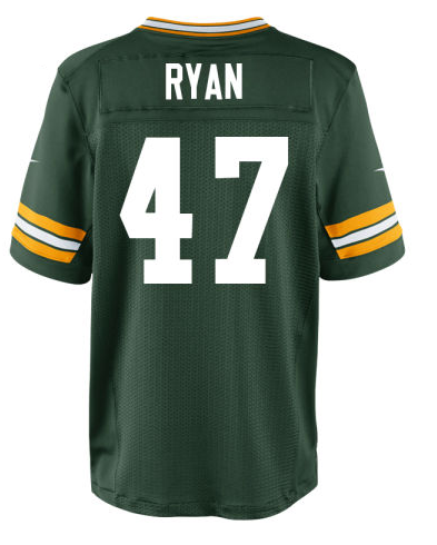 NFL Jerseys Online - Jake Ryan to Green Bay | mgoblog