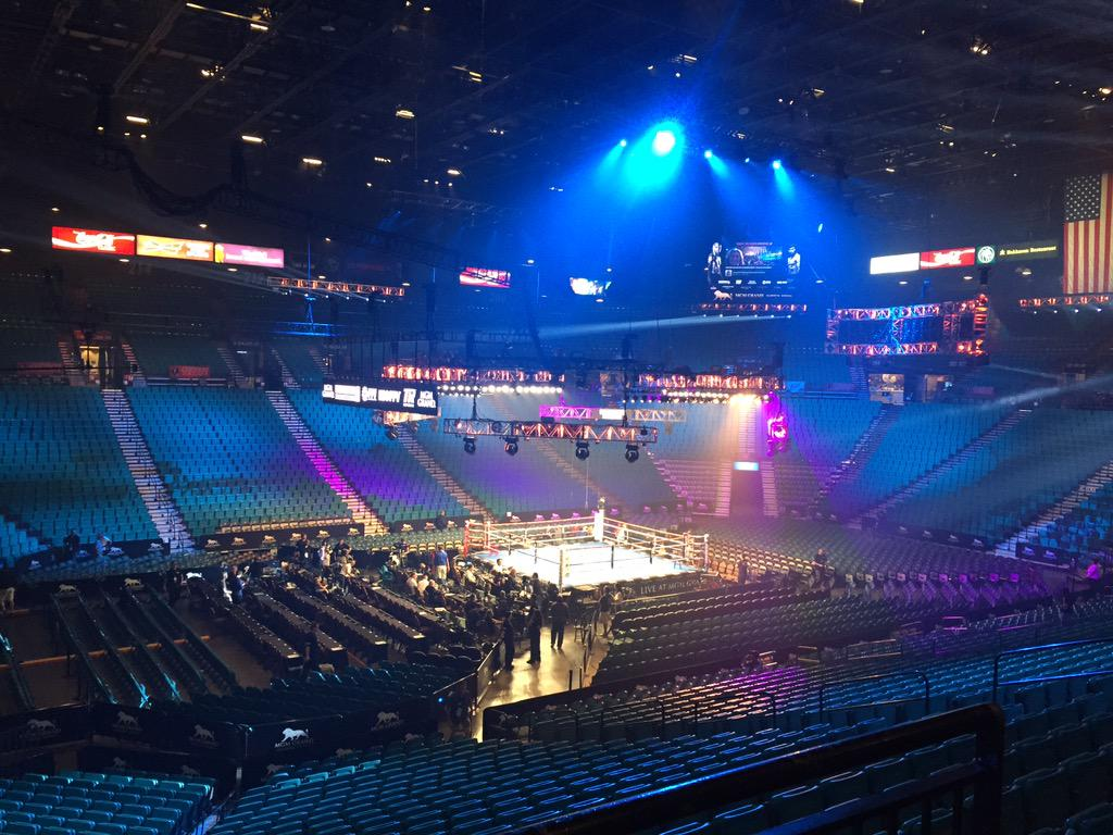 The calm before the storm.....#maypac http://t.co/vTwoevU0Yf