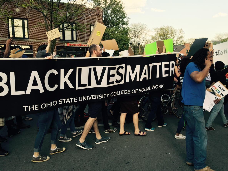 @OSUCSW #BlackLivesMatter #CBUS2Ferguson http://t.co/nnHz4Y2aH6
