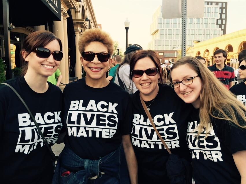 Social Workers carry the message. @OSUCSW #BlackLivesMatter http://t.co/rzRCLbNWL3