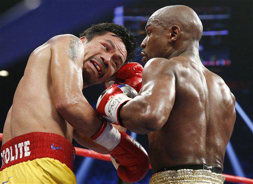 Some of our best @AP_Images so far from #PacquiaoMayweather fight: http://t.co/McG8s3MGNf