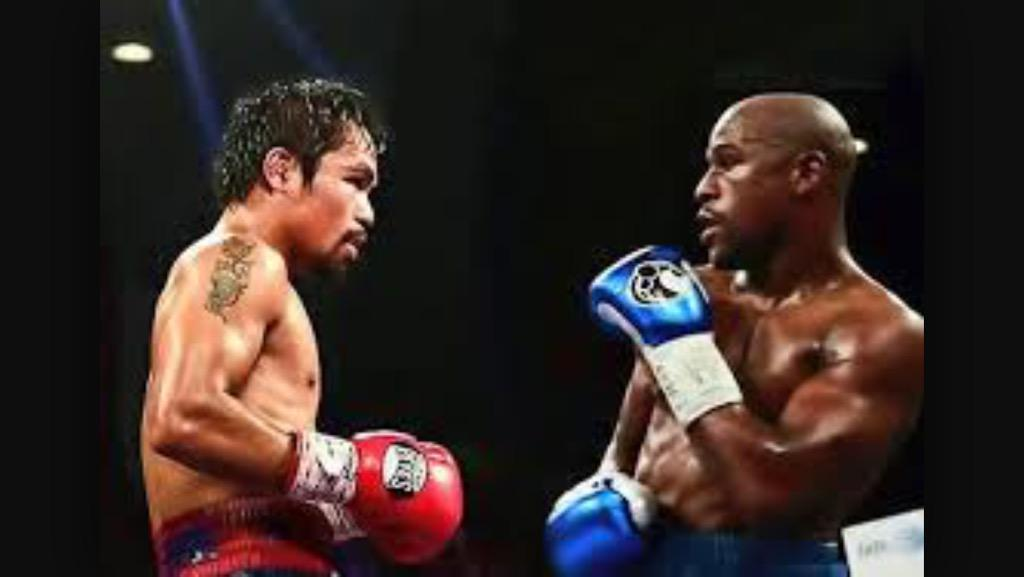 I totally agree with Pacquiao!! Mayweather was just doing the chachacha. #PacquiaoWON http://t.co/17jhFnK4NI