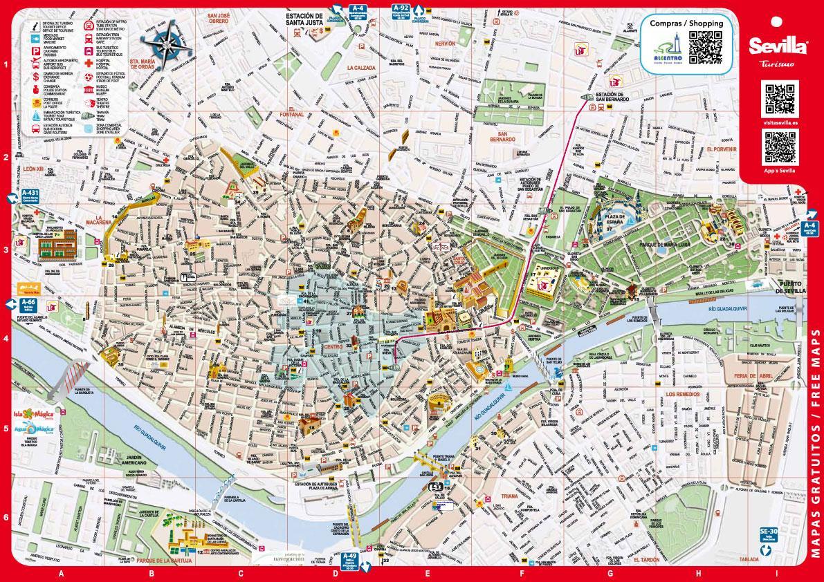 Туристическая карта валенсии