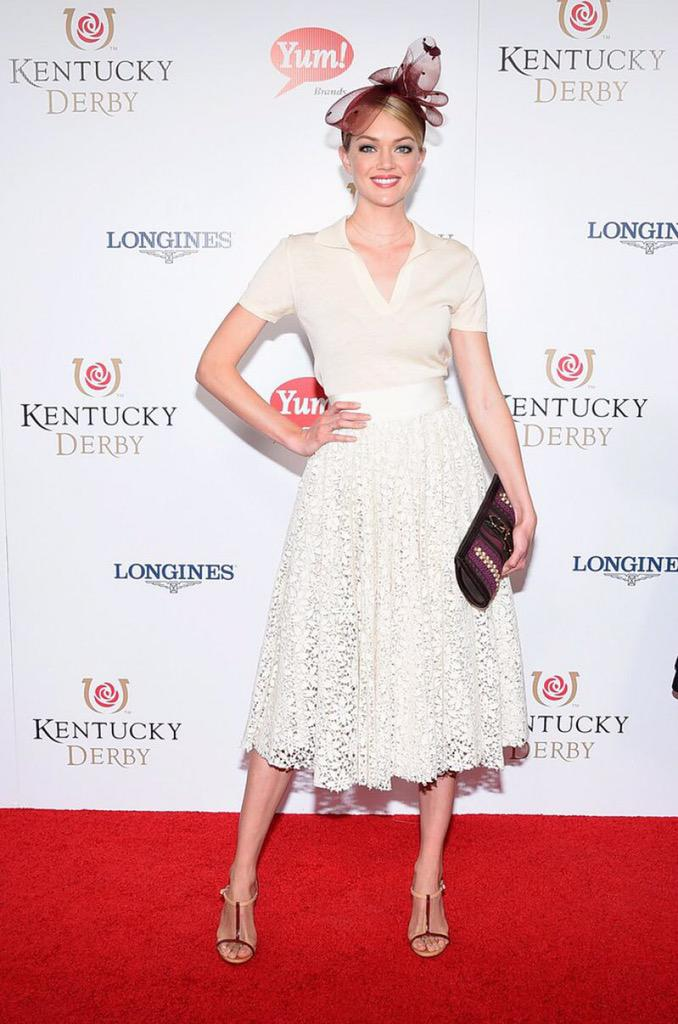 My first @KentuckyDerby was a blast! Congrats #AmericanPharoah 🐎 wearing @GiambattistaPR @Burberry @KREISICOUTURE http://t.co/fCQ9jytGne
