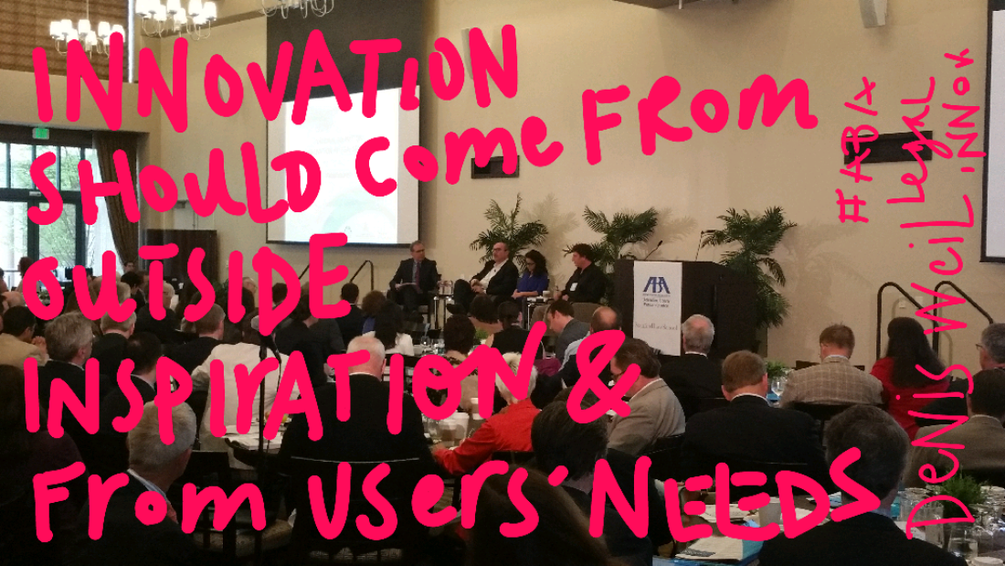 A Designer's Take on Legal Innovation #abafutures http://t.co/jHOtLcf91Q http://t.co/bUEOhFmeTH