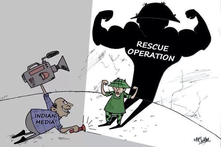 जताततै भारतीय मिडियाको विरोध #GoHomeIndianMedia