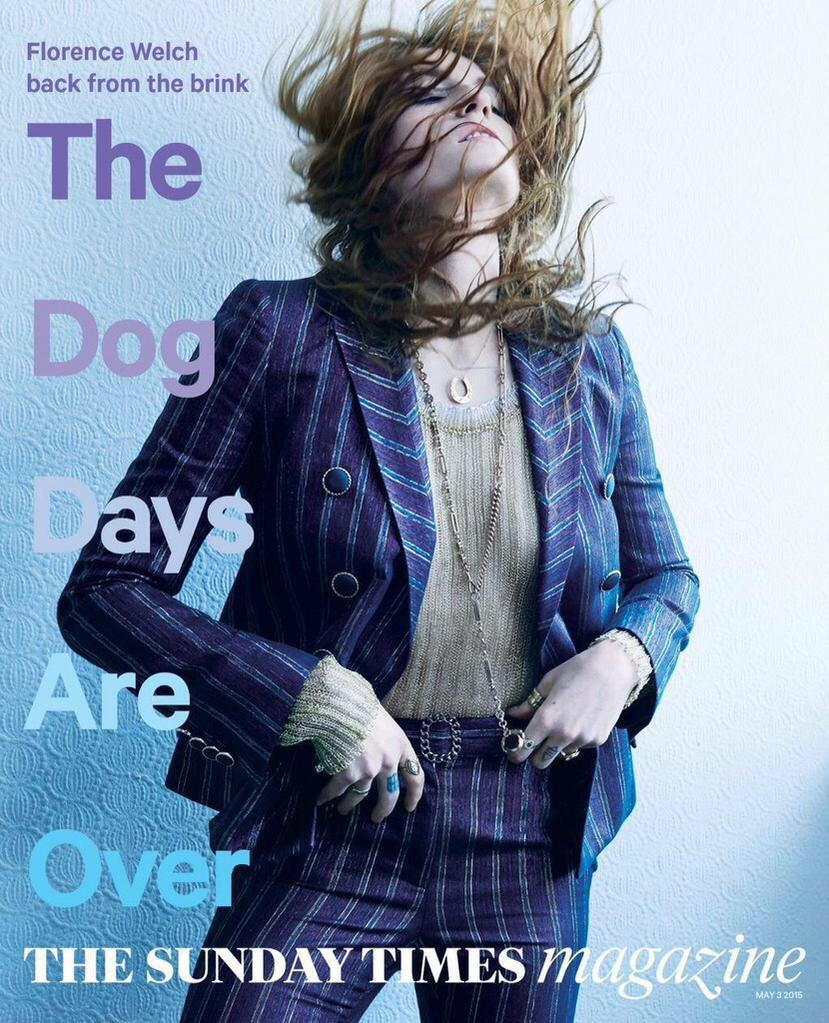 """The Dog Days Are Over""@flo_tweet on the cover of the @TheSTMagazine!"