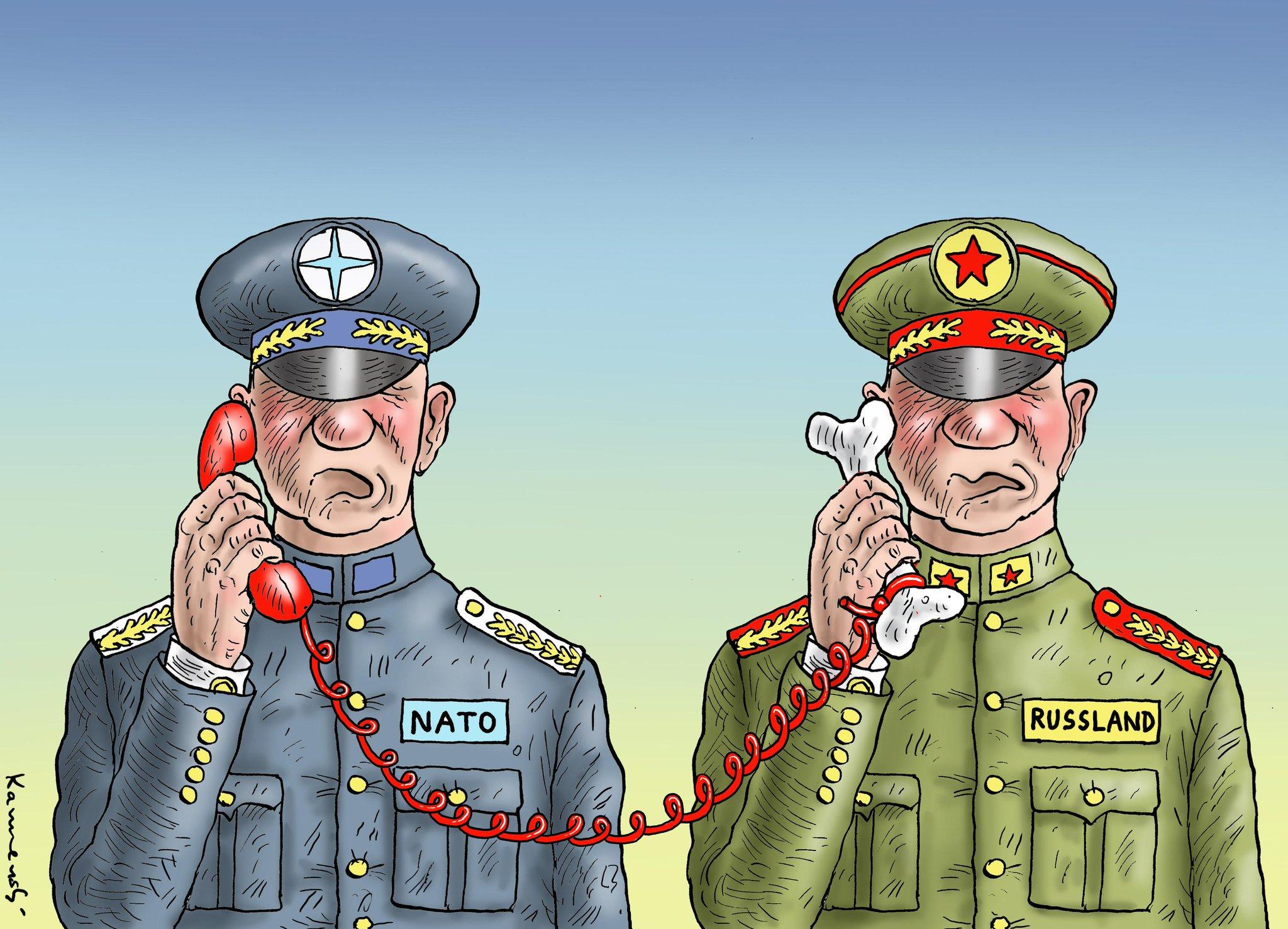 """НАТО устанавливает """"горячую линию"""" с российским военным командованием, - FAZ - Цензор.НЕТ 8393"""