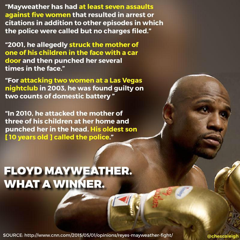 This was an interesting read... No one with this track record should be celebrated. #MayPac