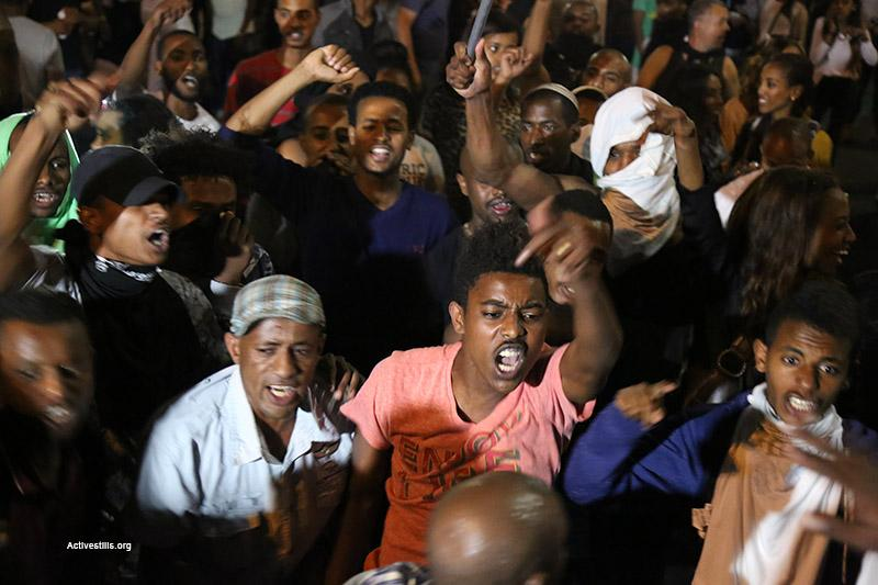 More than 40 people were injured in Tel Aviv when Ethiopian Jews protest against institutionalised racism