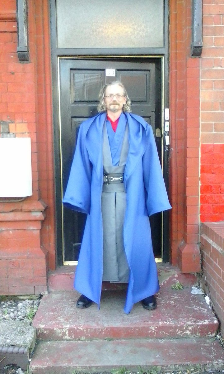 The Rhyl Jedi On Twitter New Guardian Blue Robes Done Darth Elvis Yodasbitch Blazingminds Peter Allison Http T Co Wlycy8d06s