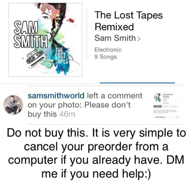 sam smith the lost tapes - remixed