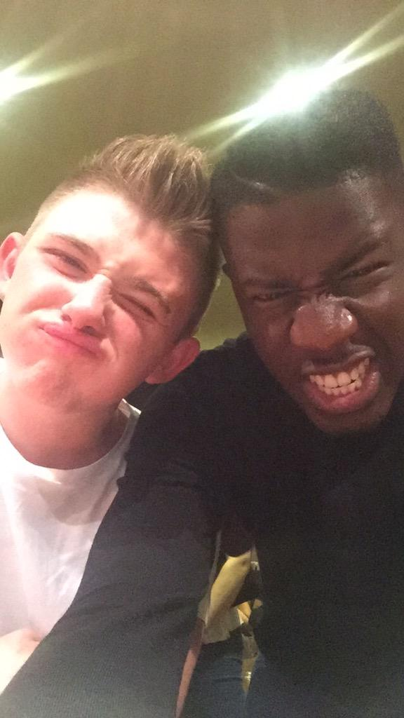 RT @JermainJackman: Post performance celebration with @nickymcdonald1 #MorecambeCarnival http://t.co/iPO2vy9waq
