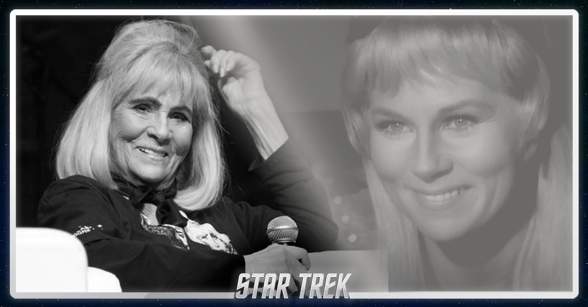 We're saddened to report the passing of Grace Lee Whitney - #StarTrek Janice Rand. Details at http://t.co/6vO7vAMrRu http://t.co/xps2otxnb8