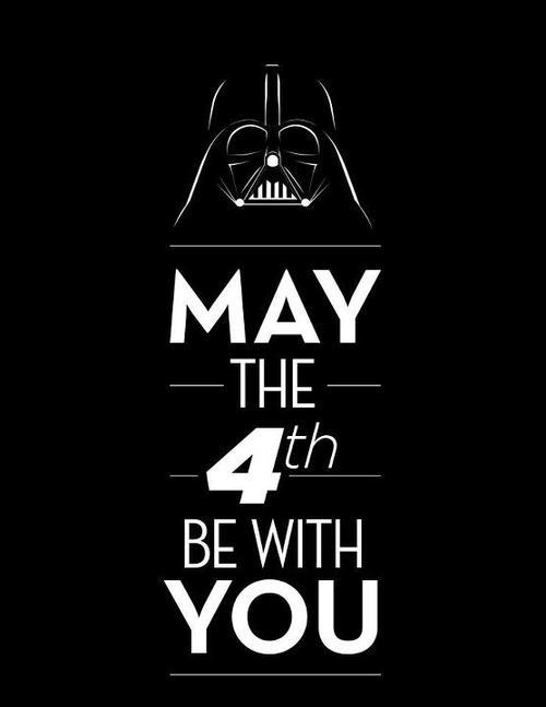 Happy Star Wars Day!  #MayThe4thBeWithYou http://t.co/wrbQntwfDs