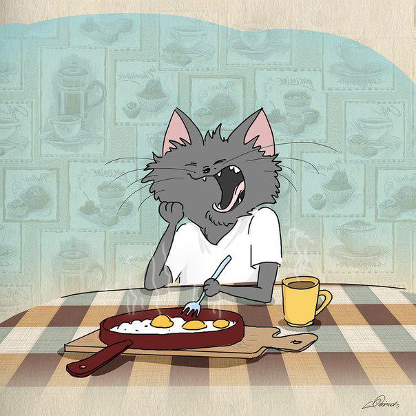 Иконы, доброе утро прикольные картинки котики