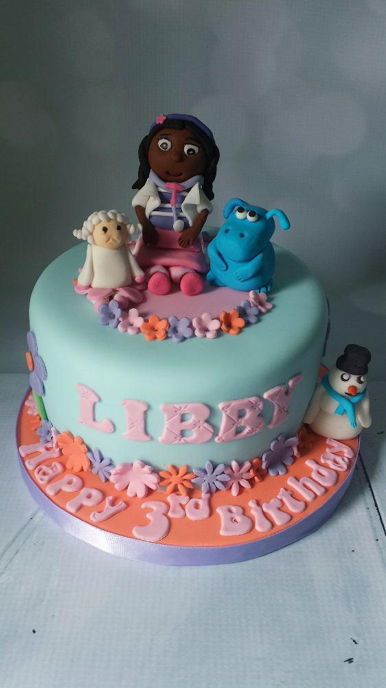 Strange Cakey Madness On Twitter Dr Mcstuffins Birthday Cake Funny Birthday Cards Online Inifodamsfinfo