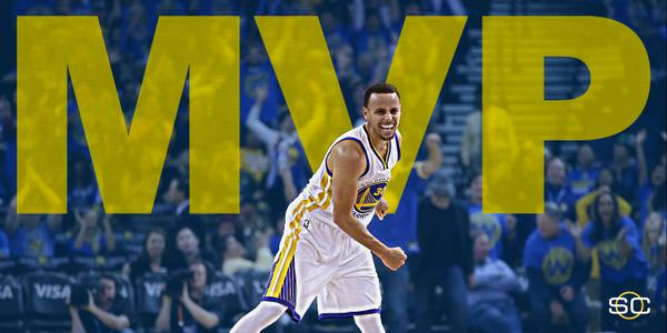 RT @SportsCenter: BREAKING: Steph Curry officially named 2014-2015 Kia NBA Most Valuable Player. http://t.co/kGHz610xep