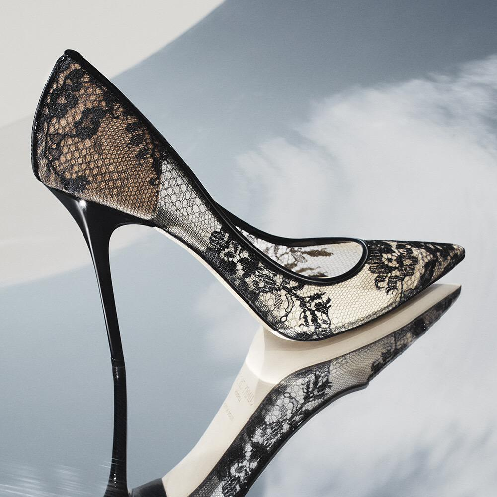"""347bedace869 """" jimmychoo  Add a little romance to your everyday with the lace ABEL pump   shoeoftheday pic.twitter.com Sx9qViU1UN"""" OMG OMG LMG"""