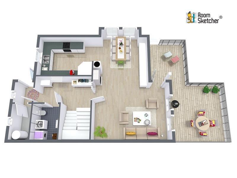 roomsketcher roomsketcher twitter. Black Bedroom Furniture Sets. Home Design Ideas
