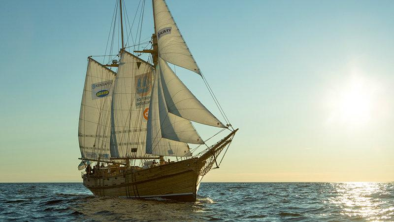 "Retket.fi on Twitter: ""Galeas Ansio sails from #kalajoki to ..."