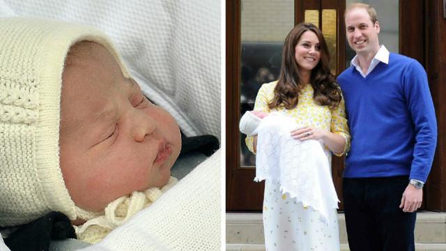 Charlotte Elizabeth Diana; é o nome da filha do príncipe William e de sua mulher,  Kate Middleton #RoyalBaby