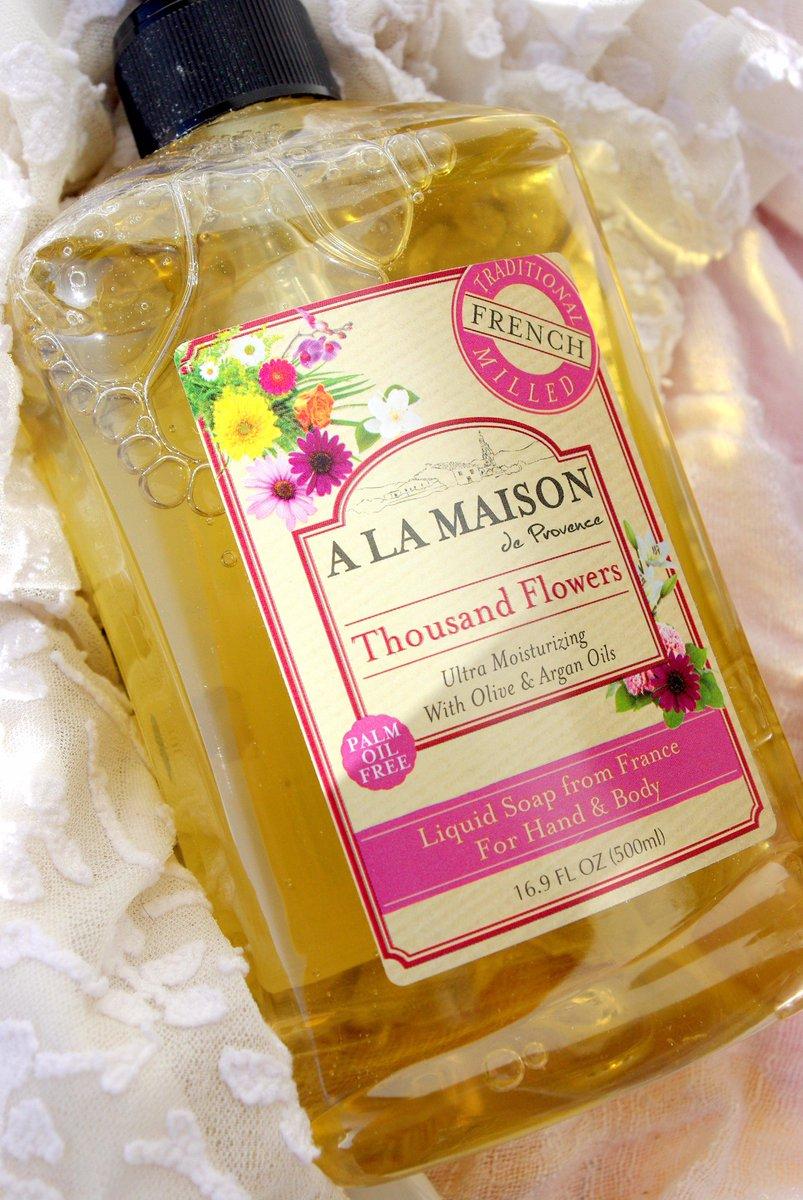 A la maison alamaisonsoaps twitter for A la maison thousand flowers