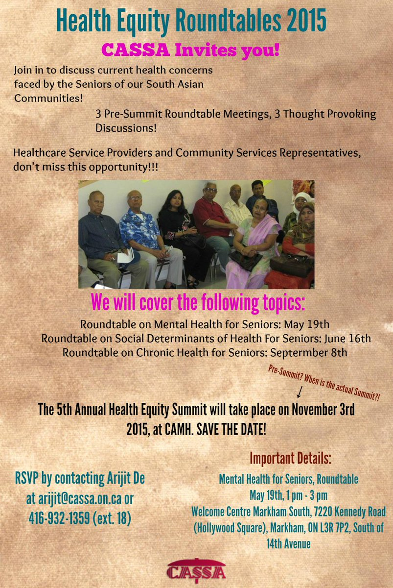 South Asian Mh On Twitter Cassaonline Is Holding A Series Of