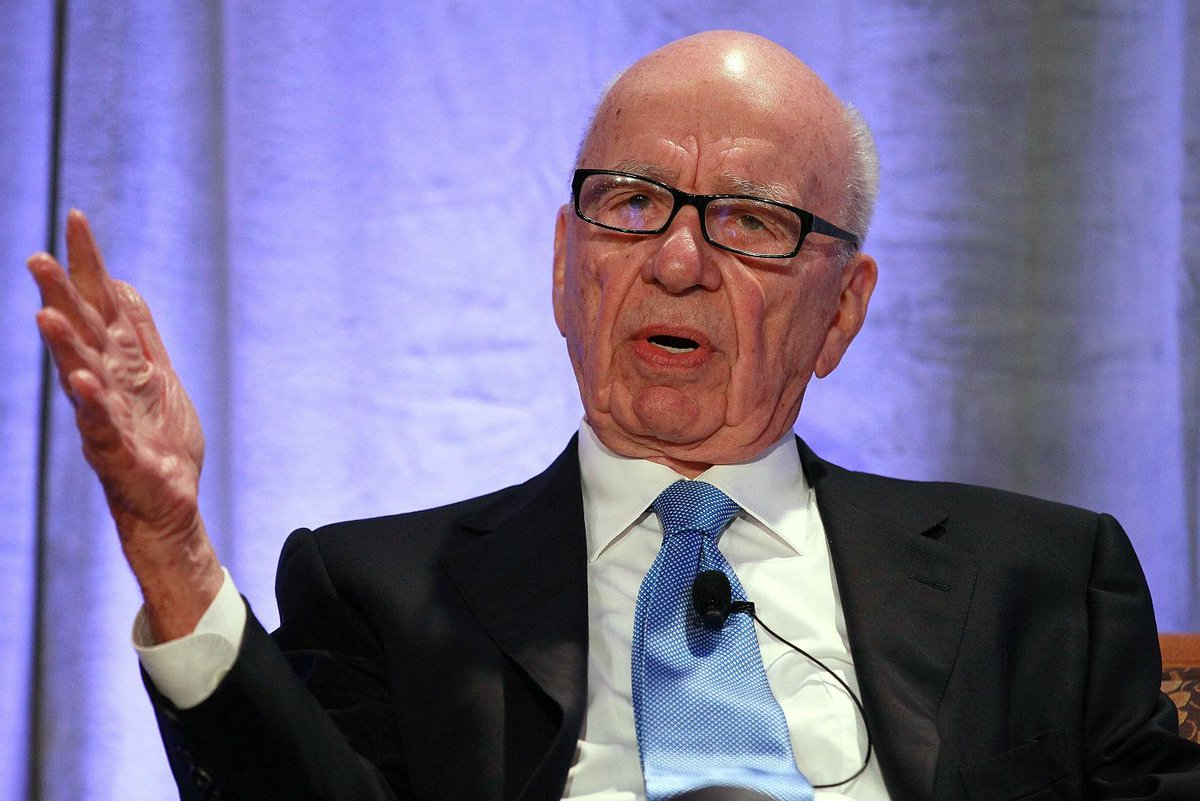 Rupert Murdoch bashes Trump, defends amnesty