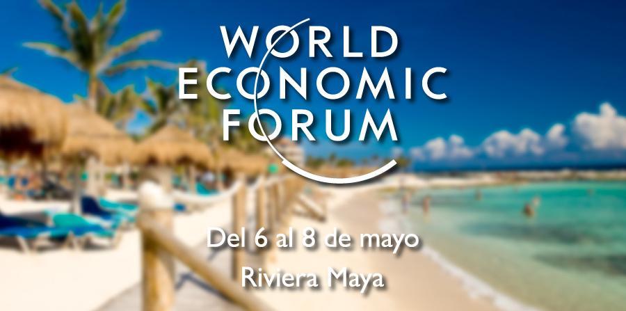 ¡El Foro Económico Mundial para América Latina #WEFLATAM se lleva a cabo en la Riviera Maya! http://t.co/l7uF7UpskM