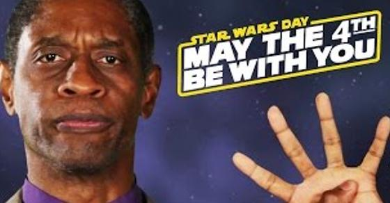Tim Russ of Star Trek (whatever that is) thinks he can explain #StarWars. #MayThe4thBeWithYou http://t.co/avU5dU1iow http://t.co/WcyvsBc7SI