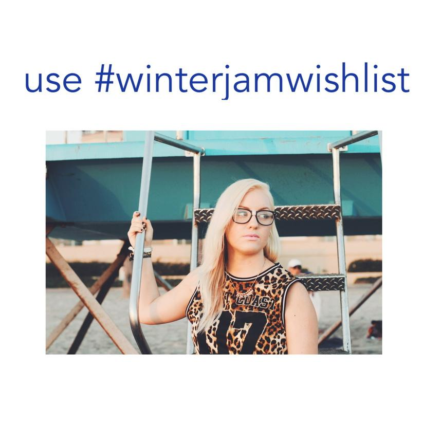 Help me perform at WINTER JAM TOUR this year and retweet this with #winterjamwishlist @winterjamtour http://t.co/UaieYL7zyg