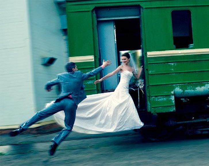 фото невеста проводница