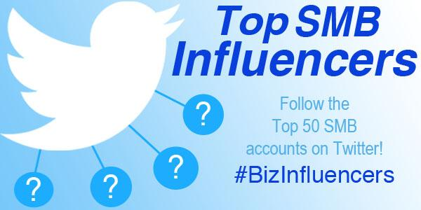 Not sure who to follow in the SMB world? Start with our Top 50 SMB #BizInfluencers list! http://t.co/bUK7EdWHWI http://t.co/9krGWw6at8