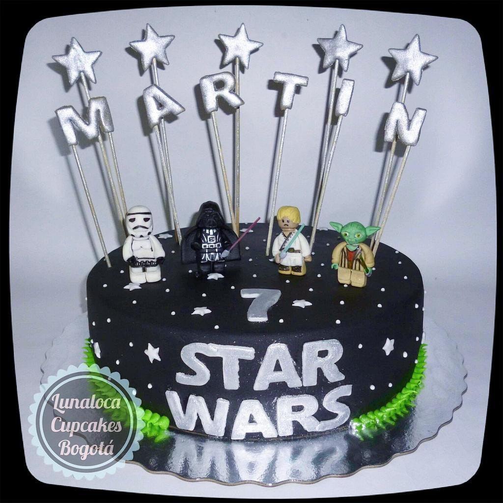 "Super Lunaloca Cupcakes on Twitter: ""Torta de lego star wars, para el  DS42"